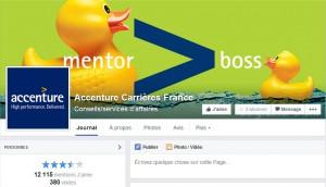 Accenture Facebook