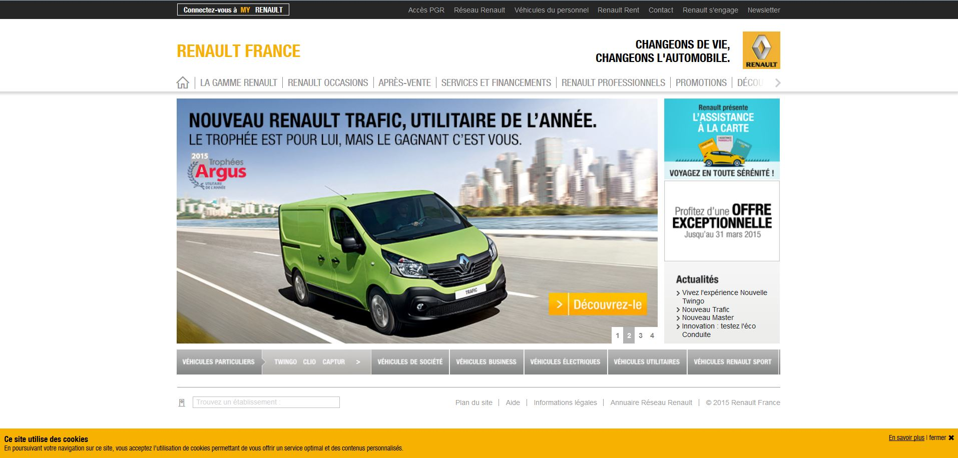 capture site internet renault