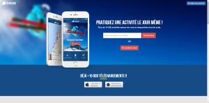 Seaclick homepage