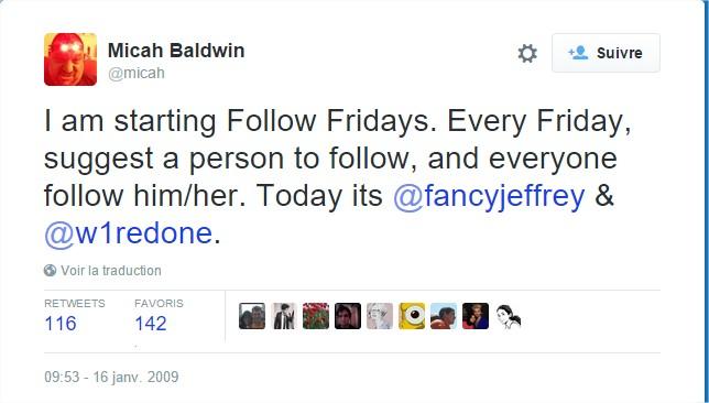 Tweet de Micah Baldwin