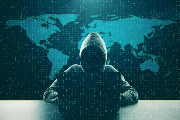 photographie qui représente un hacker