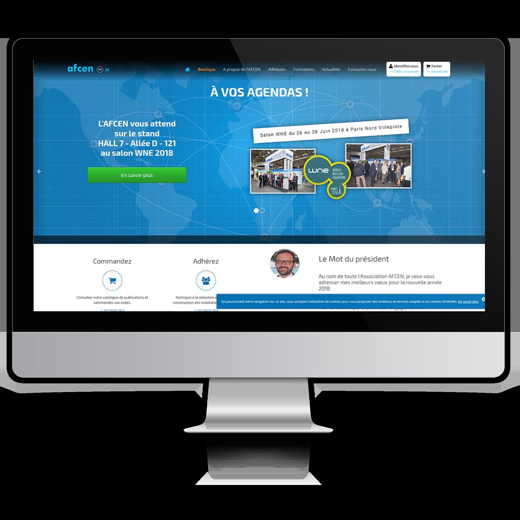 Afcen site internet