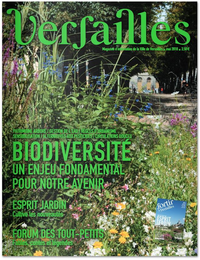 Magazine d'information de la ville de Versailles
