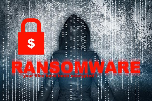 image qui présente un Ransomware avec un cadenat