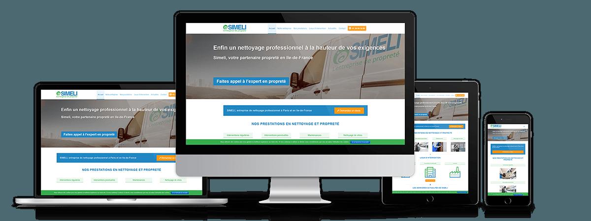 SIMELI - Site internet